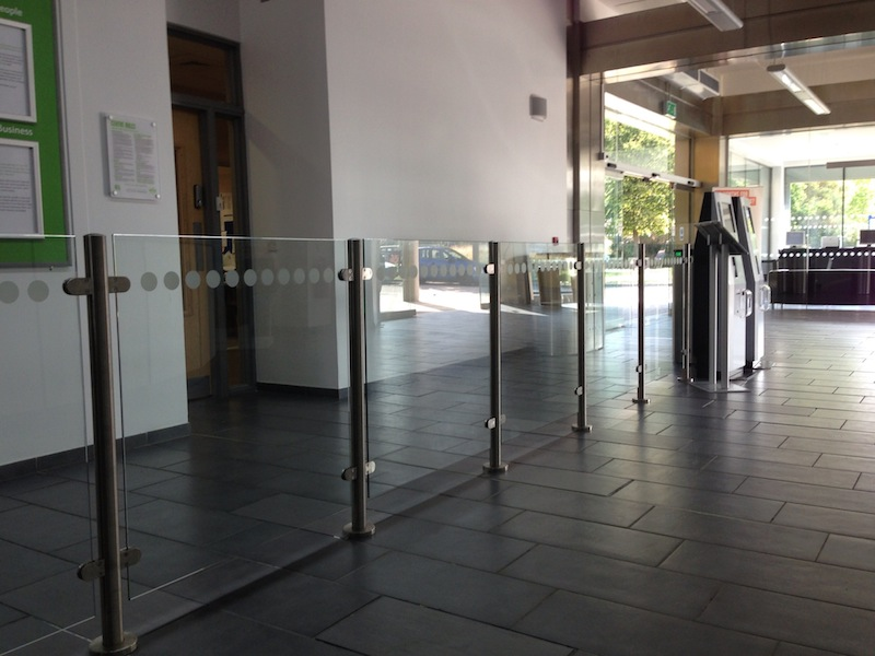 Itab Glass Barrier Rail Turnstile Systems All Right