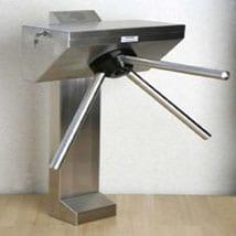 barrier rail turnstile systems