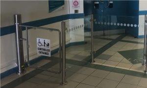 DDA Gates/Glass Barrier Rail